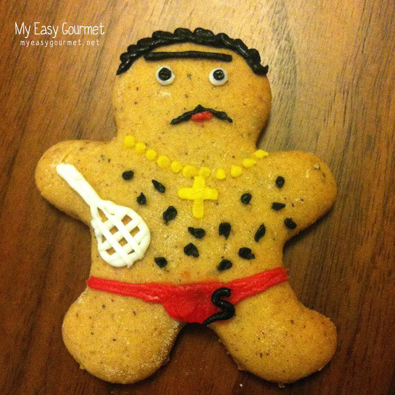 Gingerbread cookies german lebkuchen