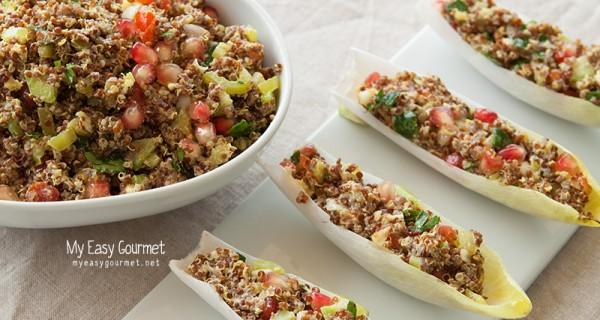 Quinoa boat