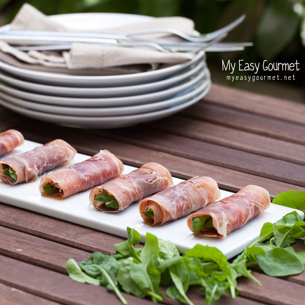 Prosciutto Rolls By My Easy Gourmet