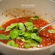 Tomato pizza sauce