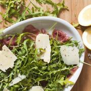 Beef Carpaccio Arugula Salad