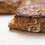 Pepperoni – Mozzarella Stuffed French Toast