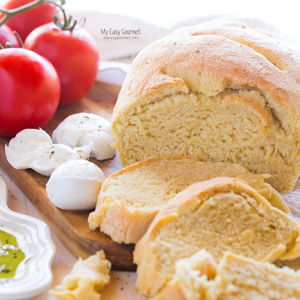 Easy recipe for homemade bread