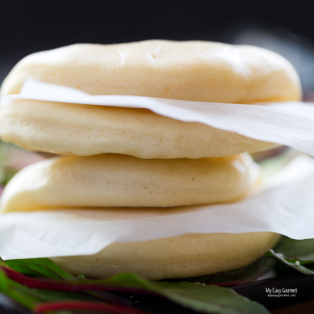 Simple Steamed Bao Buns Recipe