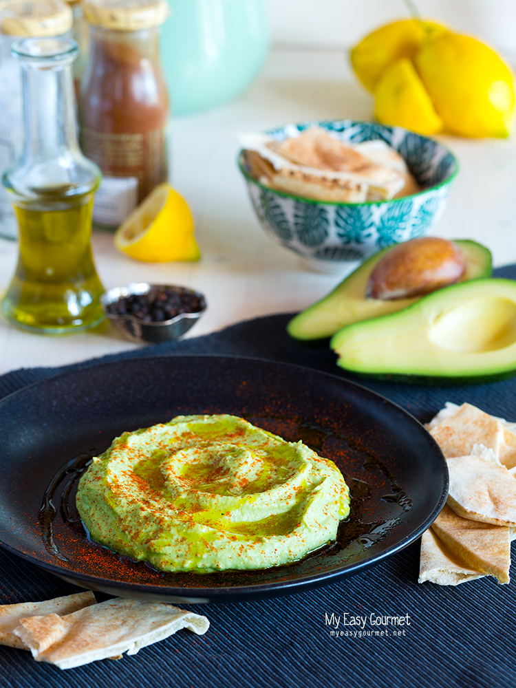 Creamy Avocado Hummus Recipe
