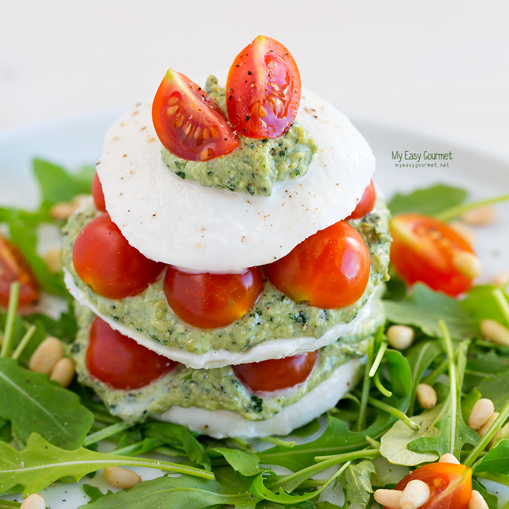 Caprese Tower - Stack to Impress