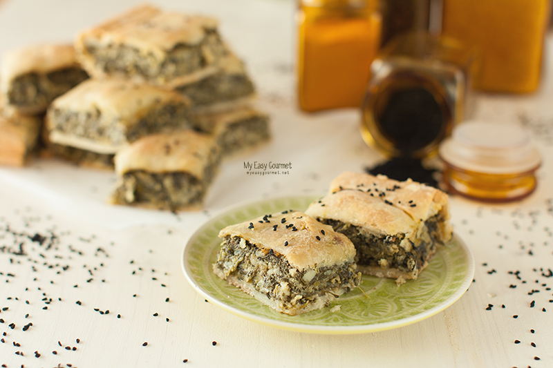 Spanakopita, the famous Greek Spinach Pie