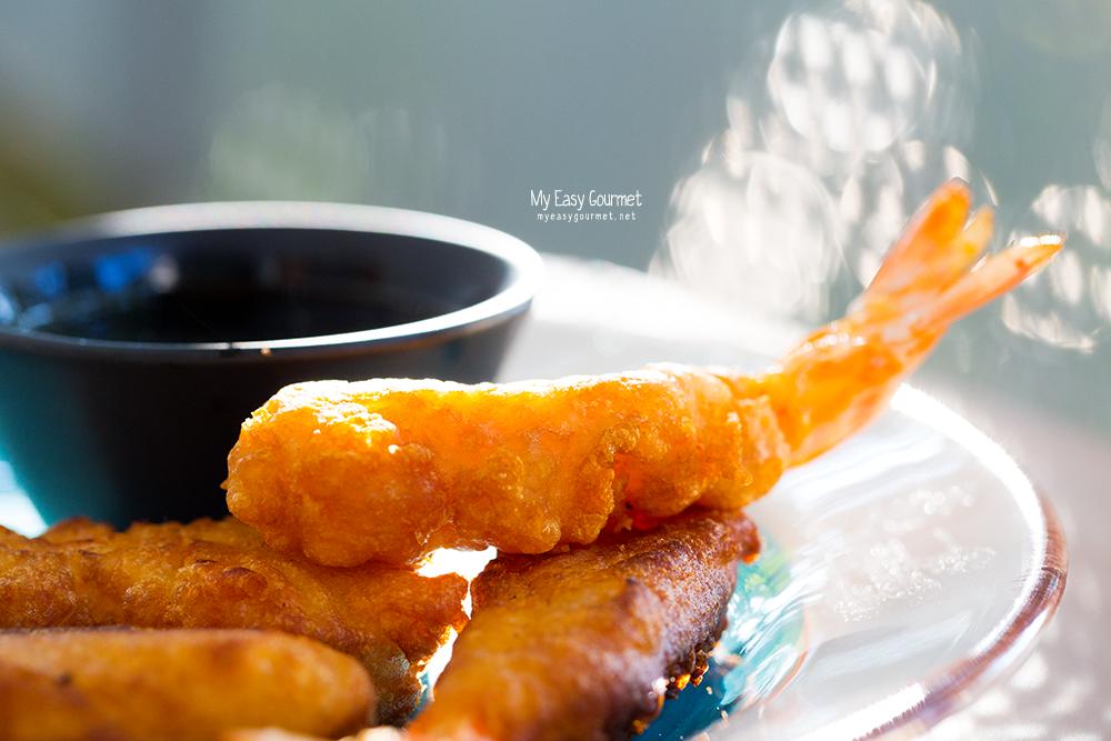 shrimps tempura